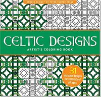 Celtic Designs Artist`s Coloring Book (31 Stress-relieving Designs) (studio) By on sale