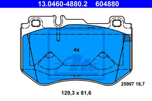 13.0460-4880.2 für MERCEDES-BENZ C-CLASS T-Mo VA ATE Bremsbelagsatz Vorderachse
