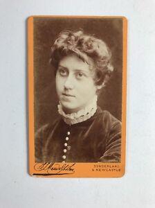 Image Is Loading Rare Victorian Carte De Visite CDV Photo Irish
