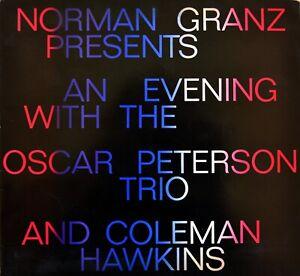Oscar Peterson Trio Coleman Hawkins 1968 ORIGINAL German tour program KIESER