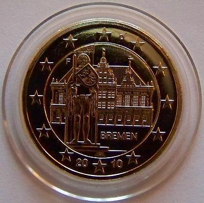 2 Euro Münze Bremen 2010