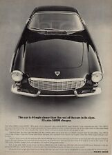 1965 Volvo 1800S Front View PRINT AD