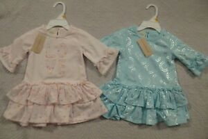 Baby-Toddler-Girls-Carter-039-s-First-Impressions-Knit-Dress-12-24-mo-NWT-3-Styles