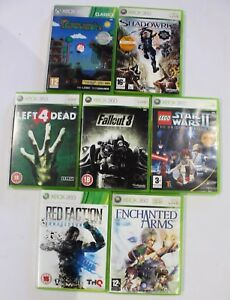 Details about Microsoft Xbox 360 Games Bundle x7 - Terraria ,Left 4 Dead,  Lego Star Wars II