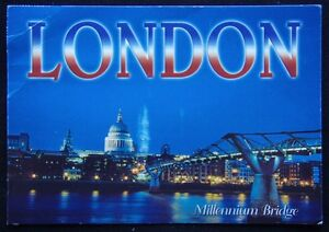 London-Millennium-Bridge-c2004-Postcard-P244
