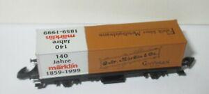 Marklin-Z-Nouvel-An-1998-99-Wagon-Transport-de-Conteneurs-034-140-Ans-034-gt-Neuve