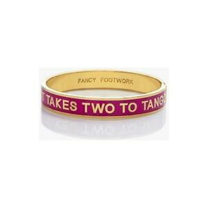 Image Is Loading Kate Spade It Takes Two To Tango Idiom