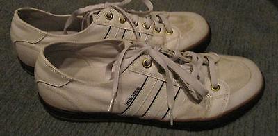 Adidas Leinenschuhe, Gr. UK 12,