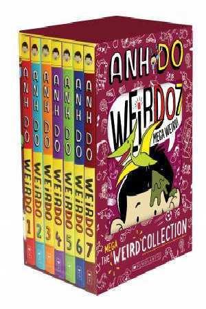 NEW Weirdo Mega Weird Collection 7 Book Collection by Anh Do *FREE AU SHIPPING*
