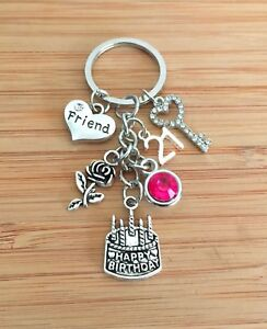 Image Is Loading 21st Birthday Gift Keyring For Daughter Sister Niece