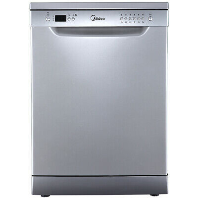 12 Place Settings Midea MDWCSS Freestanding Dishwasher 60cm Stainless Steel
