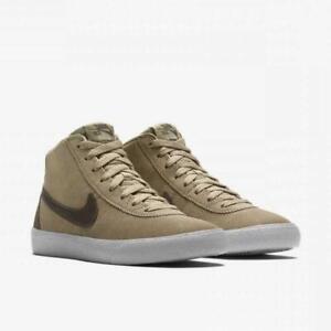 Da-Donna-Nike-SB-Bruin-Hi-misure-UK-4-5-Khaki-Ridge-ROCK-BIANCO-923112-200