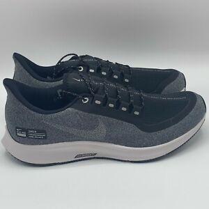 NEW-Nike-Air-Zoom-Pegasus-35-Shield-Black-Cool-Grey-Men-039-s-Size-11-5-AA1643-001