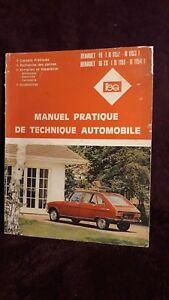 Ravissement Renault 16 Renault 16 Ts Manuel Pratique De Technique Automobile (pannes Entreti Bon GoûT