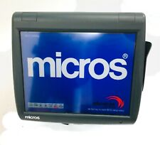 New Listingmicros Workstation 5a Ws5a 400814 122 Pos Touch Screen System 2gb No Cfos