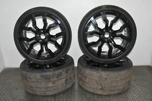 AUDI-R8-5-2-FSI-quattro-2010-RHD-R19-ALLOY-WHEELS-8-5JX19-11JX19-WITH-TIRES
