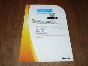 Microsoft-Office-2007-Basic-deutsche-Vollversion-ohne-Datentraeger