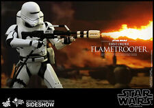 "Hot Toys Star Wars TFA FIRST ORDER FLAMETROOPER MMS326 12"" 1/6th Figure"