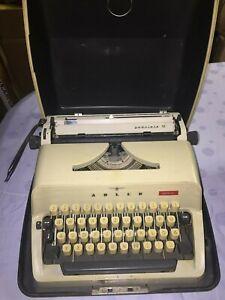 Beau voyage machine à écrire ADLER gabriele 10 rare culte DECO type diffèrent-e Adler Gabriele 10 selten Kult Deko Art Typewriter afficher le titre d`origine iPI7FdfW-09095924-463943444