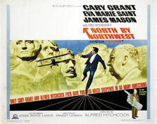 1959 NORTH BY NORTHWEST VINTAGE HITCHCOCK MOVIE POSTER PRINT STYLE A 36x24 9MIL