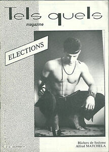 Tels-Quels-60-1987-Gay-homosexualite-Election-Lever-Matchela-Antenne-rose