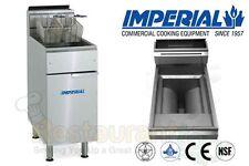 IMPERIAL COMMERCIAL FRYER GAS-OPEN POT FRY POT PROPANE MODEL IFS-40-OP
