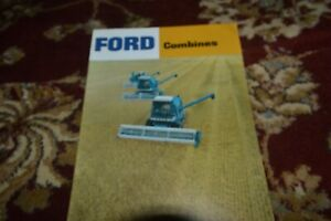 Ford Tractor 620 630 640 Combine Brochure FCCA