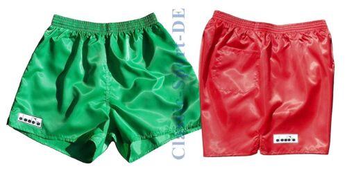 Diadora ITALIA Brillance Shorts Soccer Taille 4 NEUF Orig 543