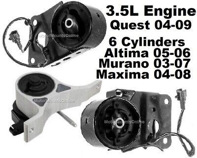 ENGINE MOUNT FITS NISSAN MAXIMA 3.5L 04-08,QUEST 3.5L 04-09 MURANO 3.5L 03-07.