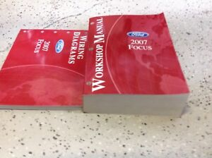 2007 Ford Focus Service Repair Shop Workshop Manual Set W ...
