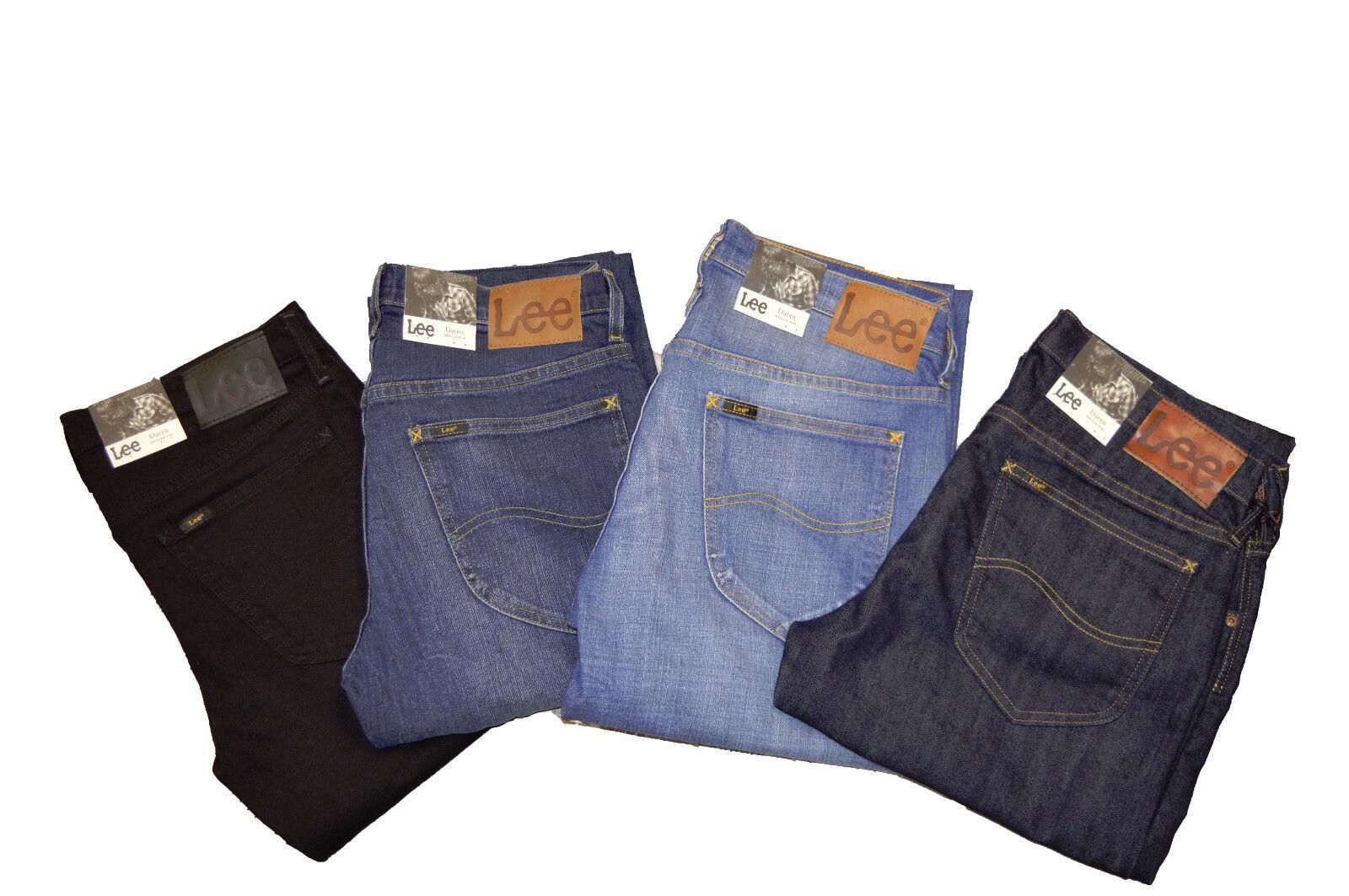 Lee Mens Jeans Daren Designer Pants Denim Trousers Trend Men New