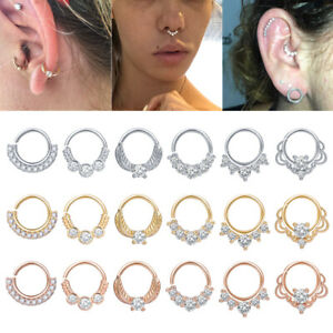 1-PC-Women-Nose-Septum-Ring-CZ-Crystal-Hoop-Earring-Daith-Tragus-Helix-Piercing