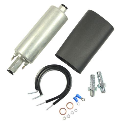 New Universal High Flow /& Pressure External Inline 255LPH Fuel Pump GSL392