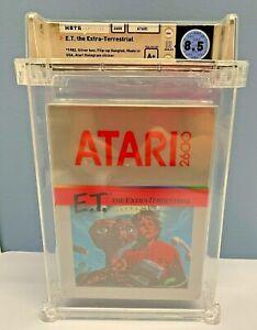E-T-the-Extra-Terrestrial-Atari-2600-WATA-GRADED-8-5-A-BRAND-NEW-SEALED