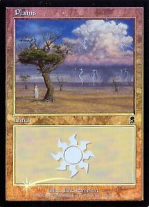 Plains 333 Foil Played MTG Odyssey Magic