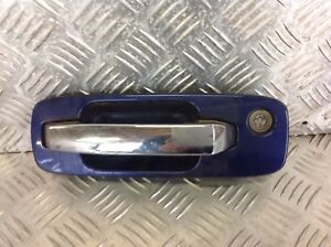 Nissan X Trail T30 01 07 O S F Drivers Exterior Door Handle In Blue