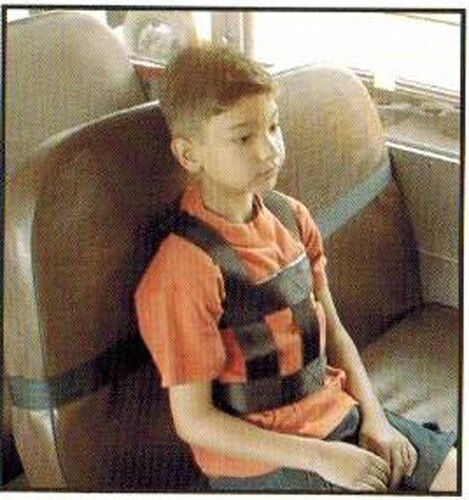 X-Large SIT RITE Safety Vest Restraint Special Needs Seatbelt Harness School Bus