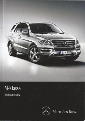 MERCEDES Classe M w166 manuale di istruzioni 2013 14 MANUALE MANUALE BA
