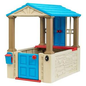 Boys Kids Playhouse Outdoor Cottage Play House Playset Backyard Children  Indoor