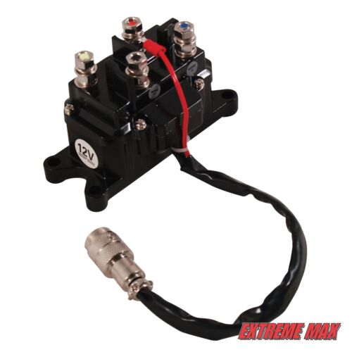 Extreme Max Universal Contactor Relay and Mini Rocker Switch Kit
