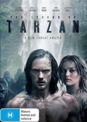 1 of 1 - The Legend Of Tarzan (DVD, 2016)