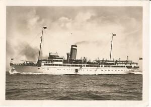 Schiff-Dampfer-Cobra-auf-Hoher-See-alte-Foto-Ansichtskarte-um-1939