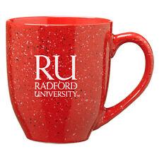 Radford University - 16-ounce Ceramic Coffee Mug - Red