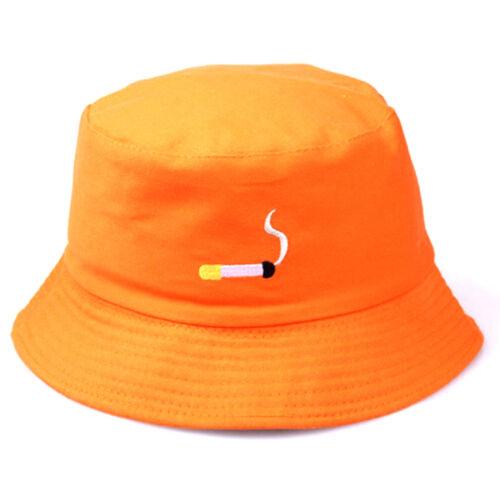 embroidery bucket hat for men women hip hop fisherman hat flat hat S/&K