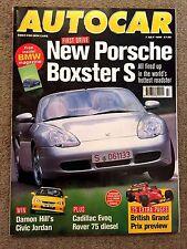 AUTOCAR MAGAZINE 07-JUL-99 - Rover 75 CDT, Porsche Boxster S, Primera CVT, Ibiza