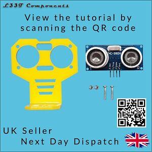 HC-SR04-Ultrasonic-Sensor-and-Mounting-Bracket