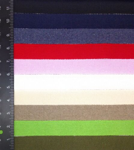 Cinta de algodón de acrílico 10mm 10 colores y longitudes de 5 *