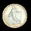 3954-RARE-50-centimes-1917-Semeuse-en-Argent-SPL-FDC-FACTURE miniature 2