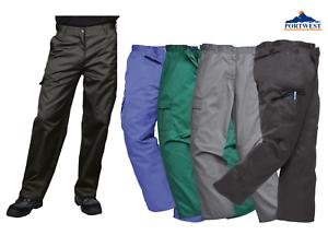 Portwest Cargo Combat Action Smart Work Trousers Pants Uniform Multi Pocket C701