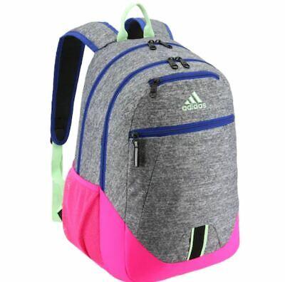 NEW NWT Adidas Foundation V Backpack Brasilia Prime Student Onix Jersey Pink   eBay